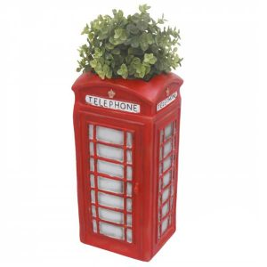 telphone box planter