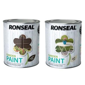 ronseal 750ml garden paint