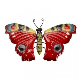 large metal butterfly